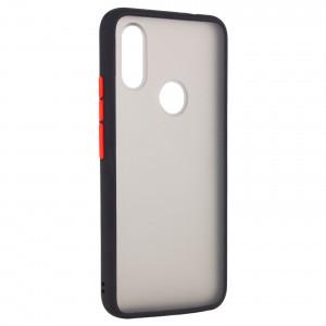 Противоударный матовый полупрозрачный чехол  для Huawei Honor 8A