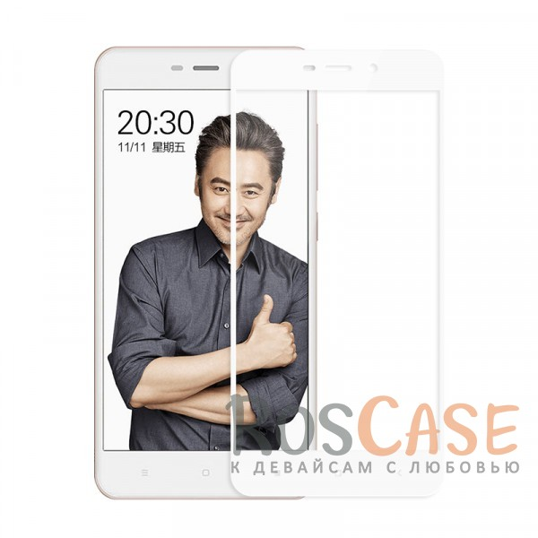 Защитное стекло с цветной рамкой на весь экран с олеофобным покрытием анти-отпечатки для Xiaomi Redmi 4a (Белый)Описание:компания&amp;nbsp;Epik;совместимо с Xiaomi Redmi 4a;материал: закаленное стекло;тип: защитное стекло на экран.Особенности:полностью закрывает дисплей;толщина - 0,3 мм;цветная рамка;прочность 9H;покрытие анти-отпечатки;защита от ударов и царапин.<br><br>Тип: Защитное стекло<br>Бренд: Epik