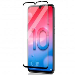 Защитное стекло 2.5D CP+ с полной проклейкой  для Huawei Honor 10i