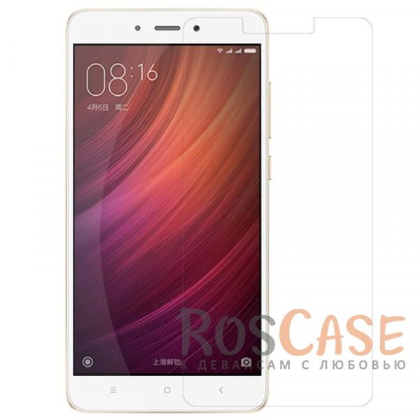 Прозрачная пленка для Xiaomi Redmi Note 4X / Note 4 (Snapdragon)Описание:разработана для Xiaomi Redmi Note 4X / Note 4 (Snapdragon);материал: полимер;имеет все функциональные вырезы;прозрачная;анти-отпечатки;не влияет на чувствительность сенсора;защита от потертостей и царапин;не оставляет следов на экране при удалении;ультратонкая;размеры пленки -&amp;nbsp;145.26*68.5 мм.<br><br>Тип: Защитная пленка<br>Бренд: Nillkin