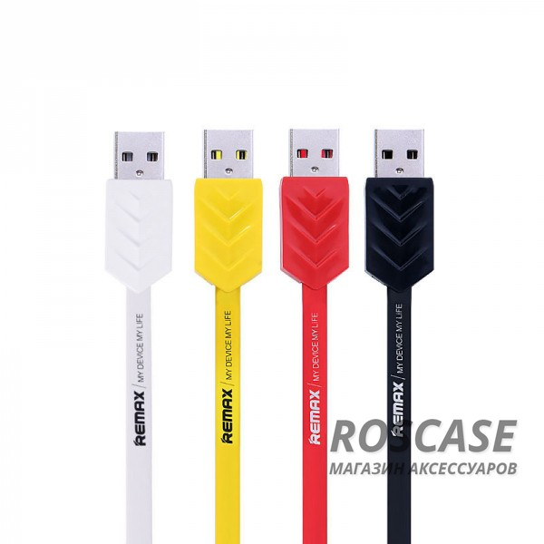 фото дата кабель Remax USB to MicroUSB Fishbone (1m)