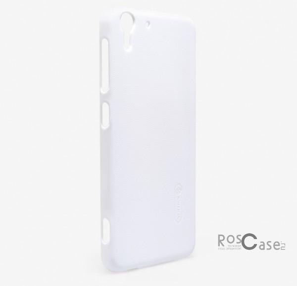 Чехол Nillkin Matte для HTC Desire Eye (+ пленка) (Белый)Описание:Чехол изготовлен компанией&amp;nbsp;Nillkin;Спроектирован для модели смартфона HTC Desire Eye;При изготовлении применялся качественный пластик;Форма  -  накладка.Особенности:Дизайн продукции очень изысканный и элегантный;В комплекте есть защитная бесцветная пленка;Ультратонкий, поэтому при использовании не увеличивается объем и толщина аппарата;Строгая, неброская цветовая гамма;Полное исключение появления на поверхности отпечатков;Антикислотный слой на поверхности.<br><br>Тип: Чехол<br>Бренд: Nillkin<br>Материал: Поликарбонат