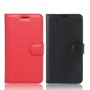 Wallet | Кожаный чехол-кошелек с внутренними карманами для Meizu M5s