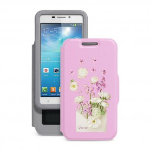 "Gresso ""Признание Маргаритка"" |  женский чехол-книжка с принтом цветка для Huawei G Play Mini"