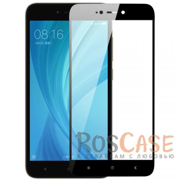 Ультратонкое цветное стекло с закругленными краями для Xiaomi Redmi Note 5A (в упаковке)? (Черный)Описание:защита от ударов и царапин;ультратонкий дизайн;идеально совместимо с Xiaomi Redmi Note 5A;ударопрочное;цветная рамка;олеофобное покрытие.<br><br>Тип: Защитное стекло<br>Бренд: Epik