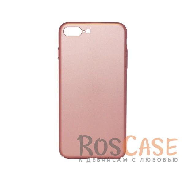 Матовая soft-touch накладка Joyroom из ударостойкого пластика с дополнительной защитой углов для Apple iPhone 7 plus / 8 plus (5.5) (Розовый)Описание:бренд - Joyroom;совместимость - Apple iPhone 7 plus / 8 plus (5.5);материал - пластик;тип - накладка.<br><br>Тип: Чехол<br>Бренд: Epik<br>Материал: Пластик