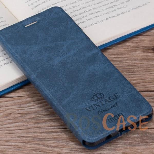 Винтажный кожаный чехол-книжка MOFI Vintage с отделением для карт и функцией подставки для Meizu M5 (Синий)Описание:компания-производитель: Mofi;совместимость:&amp;nbsp;Meizu M5;материалы: искусственная кожа, термополиуретан;функция подставки;отделение для карточек или купюр;формат: чехол-книжка;винтажный стиль.<br><br>Тип: Чехол<br>Бренд: Mofi<br>Материал: Искусственная кожа