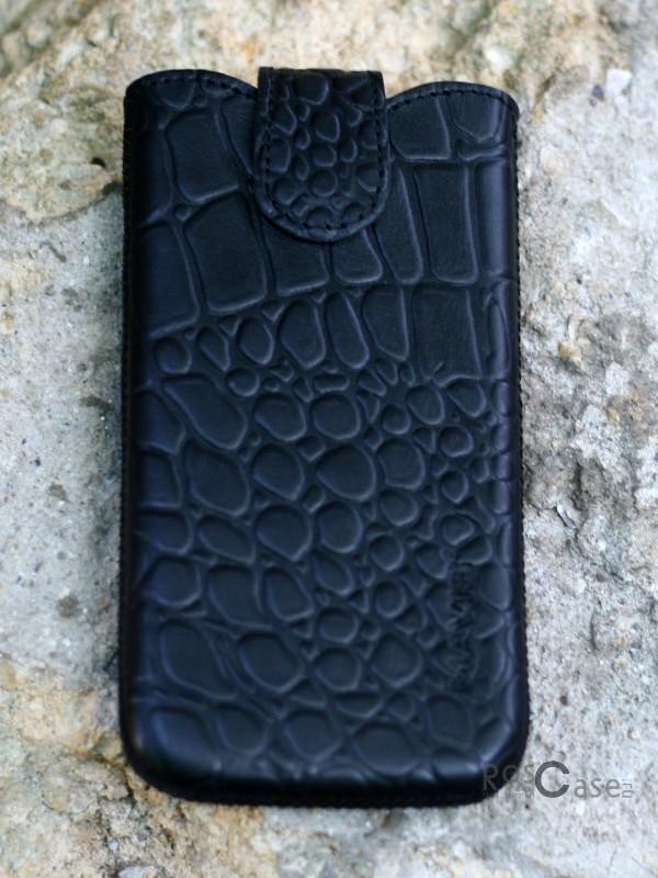фото кожаный футляр Mavis Classic CROCODILE 137x71 для i9300ZLNexus 44500E1E2