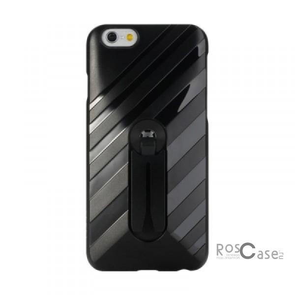 Пластиковая накладка Rock Car Mount (функц. подставки + автодержатель) для Apple iPhone 6/6s (4.7) (Черный / Black)Описание:бренд&amp;nbsp;Rock;совместимость: Apple iPhone 6/6s (4.7);материал  -  термополиуретан;тип  -  накладка.&amp;nbsp;Особенности:имеются все функциональные вырезы;функция подставки;функция автодержателя;не скользит;амортизирует удары;на ней не видны следы от пальцев;защищает от царапин.<br><br>Тип: Чехол<br>Бренд: ROCK<br>Материал: Пластик