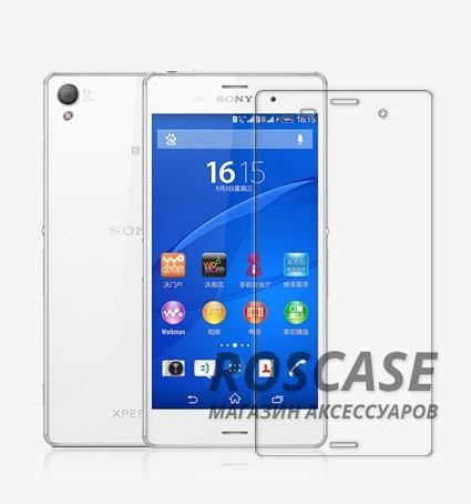 Прозрачная глянцевая защитная пленка Nillkin на экран с гладким пылеотталкивающим покрытием для Sony Xperia Z3/Xperia Z3 DualОписание:производитель:&amp;nbsp;Nillkin;совместимость: Sony Xperia Z3/Xperia Z3 Dual;материал: полимер;тип: защитная пленка.&amp;nbsp;Особенности:все необходимые функциональные вырезы в наличии;антибликовое покрытие;не влияет на чувствительность сенсора;легко очищается;на ней не остаются потожировые следы.<br><br>Тип: Защитная пленка<br>Бренд: Nillkin