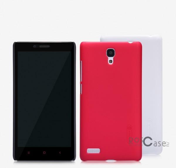 Матовый чехол для Xiaomi Redmi Note (+ пленка)Описание:Чехол изготовлен компанией&amp;nbsp;Nillkin;Спроектирован для Xiaomi Redmi Note;Материал изготовления - пластик;Форма  -  накладка.Особенности:Имеет матовую поверхность;Исключено возникновение потертостей и образование царапин;В комплекте поставляется глянцевая бесцветная пленка;Немаркий;Не деформируется;Ультратонкий.<br><br>Тип: Чехол<br>Бренд: Nillkin<br>Материал: Поликарбонат