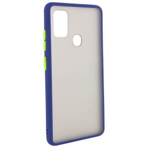 Противоударный матовый полупрозрачный чехол  для Samsung Galaxy A21s
