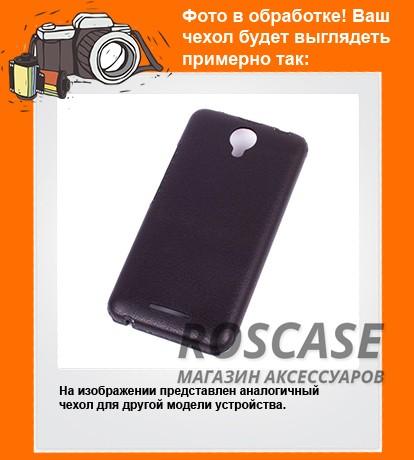 Фото Прочный кожаный чехол-накладка Valenta с гладкой поверхностью для Apple iPhone 4/4S
