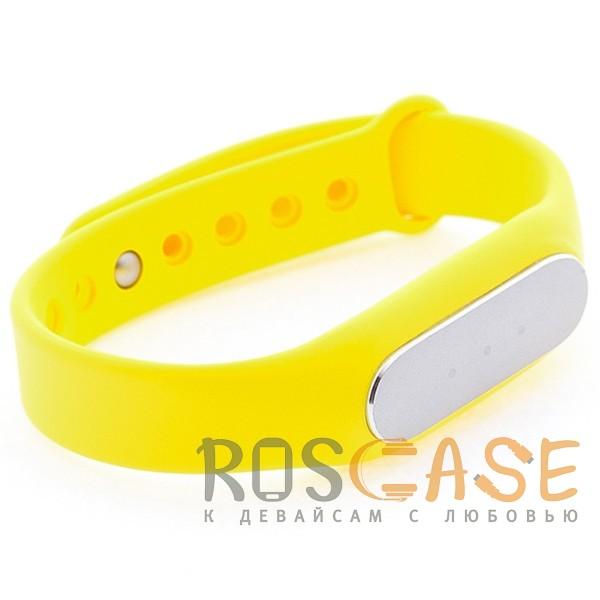 Фото Желтый Xiaomi Mi Band | Ремешок для фитнес-браслета