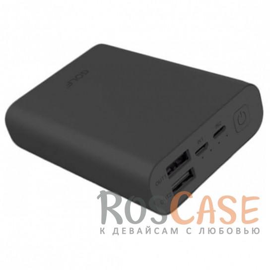 Фото Матовое портативное зарядное устройство GOLF EDGE X3 на 2 USB (10000 mAh)