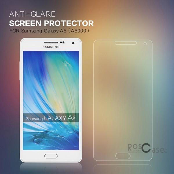 Защитная пленка Nillkin для Samsung A500H / A500F Galaxy A5  (Матовая)Описание:производитель:&amp;nbsp;Nillkin;совместимость: Samsung A500H / A500F Galaxy A5;материал: полимер;тип: матовая.&amp;nbsp;Особенности:в наличии все функциональные вырезы;антибликовое покрытие;не влияет на чувствительность сенсора;легко очищается;на ней не остаются пальчики.<br><br>Тип: Защитная пленка<br>Бренд: Nillkin