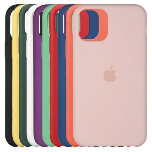 Силиконовый чехол Silicone Case с микрофиброй  для iPhone 11 Pro