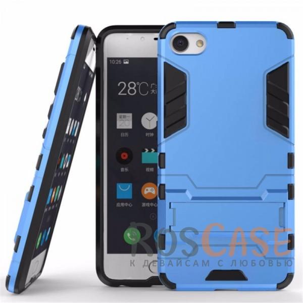 Ударопрочный чехол-подставка Transformer для Meizu U10 с мощной защитой корпуса (Синий / Navy)Описание:подходит для Meizu U10;материалы: термополиуретан, поликарбонат;формат: накладка.&amp;nbsp;Особенности:функциональные вырезы;функция подставки;двойная степень защиты;защита от механических повреждений;не скользит в руках.<br><br>Тип: Чехол<br>Бренд: Epik<br>Материал: TPU