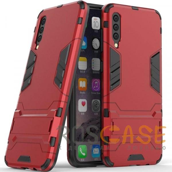 Фото Красный / Dante Red Transformer | Противоударный чехол для Samsung A705F Galaxy A70 с мощной защитой корпуса