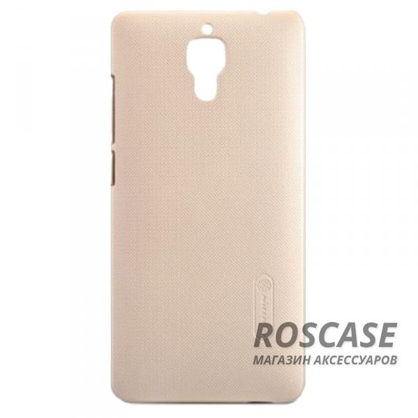 Чехол Nillkin Matte для Xiaomi MI4 (+ пленка) (Золотой)Описание:производитель  -  компания&amp;nbsp;Nillkin;идеально совместим с Xiaomi MI4;материал  -  пластик;форма  -  накладка.&amp;nbsp;Особенности:в наличии все вырезы;матовая поверхность;не увеличивает габариты;пленка в комплекте;защита от механических повреждений;на чехле не видны потожировые следы.<br><br>Тип: Чехол<br>Бренд: Nillkin<br>Материал: Поликарбонат