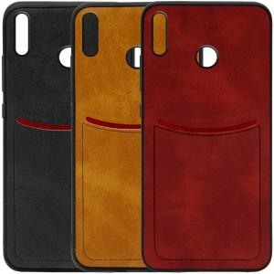 ILEVEL | Чехол с кожаным покрытием и с карманом-визитницей для Huawei Honor 8X