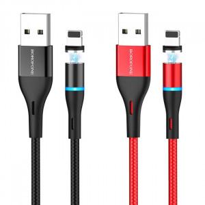 Borofone BU16 | Магнитный кабель USB Lightning для iPhone 2.4A 1.2 метра