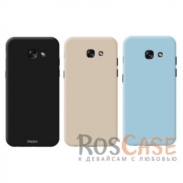 Чехол Air Case Deppa (soft touch) для Samsung A520 Galaxy A5 (2017)Описание:компания Deppa;создан для модели устройства&amp;nbsp;Samsung A520 Galaxy A5 (2017);материал - поликарбонат;тип - накладка.<br><br>Тип: Чехол<br>Бренд: Epik<br>Материал: Поликарбонат