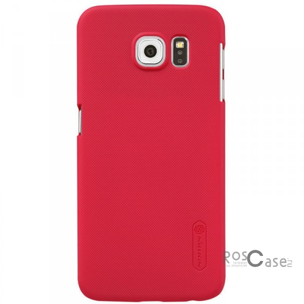 Чехол Nillkin Matte для Samsung Galaxy S6 G920F/G920D Duos (+ пленка) (Красный)Описание:производитель - бренд&amp;nbsp;Nillkin;материал - поликарбонат;совместимость - Samsung Galaxy S6 G920F/G920D Duos;тип - накладка.&amp;nbsp;Особенности:матовый;прочный;тонкий дизайн;не скользит в руках;не выцветает;пленка в комплекте.<br><br>Тип: Чехол<br>Бренд: Nillkin<br>Материал: Поликарбонат