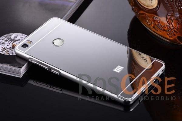 Металлический бампер с акриловой вставкой с зеркальным покрытием для Xiaomi Mi Max (Серебряный)Описание:разработан для Xiaomi Mi Max;материалы - металл, акрил;тип - бампер с задней панелью.<br><br>Тип: Чехол<br>Бренд: Epik<br>Материал: Металл