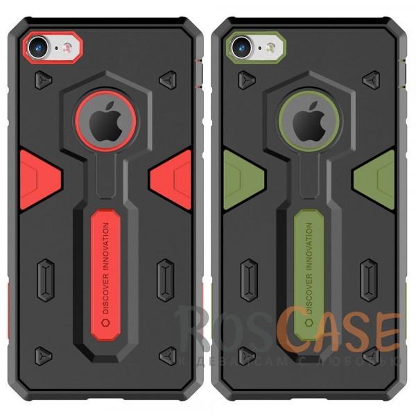 Ударопрочный двухслойный пластиковый чехол Nillkin Defender 2 для Apple iPhone 7 / 8 (4.7)Описание:производитель  - &amp;nbsp;Nillkin;совместим с Apple iPhone 7 / 8 (4.7);материал  -  термополиуретан, поликарбонат;тип  -  накладка.&amp;nbsp;Особенности:в наличии все вырезы;противоударный;стильный дизайн;надежно фиксируется;защита от повреждений.<br><br>Тип: Чехол<br>Бренд: Nillkin<br>Материал: TPU