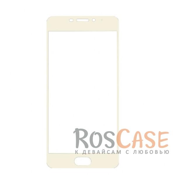Защитное стекло с цветной рамкой на весь экран с олеофобным покрытием анти-отпечатки для Meizu M5 Note (Белый)Описание:совместимо с Meizu M5 Note;материал: закаленное стекло;тип: защитное стекло на экран;полностью закрывает дисплей;толщина - 0,3 мм;цветная рамка;прочность 9H;покрытие анти-отпечатки;защита от ударов и царапин.<br><br>Тип: Защитное стекло<br>Бренд: Epik
