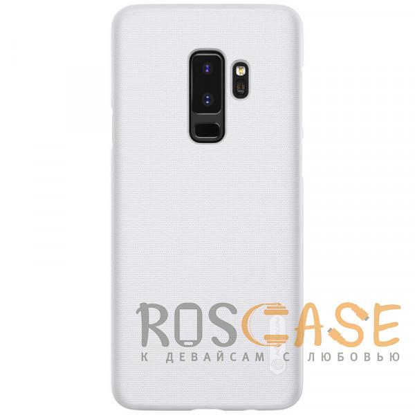 Фото Белый Nillkin Super Frosted Shield   Матовый чехол для Samsung Galaxy S9 Plus