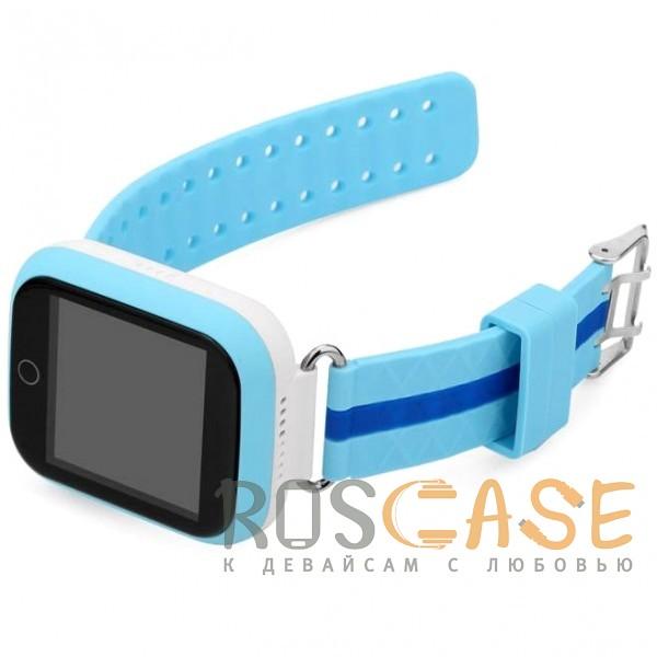 Изображение Голубой Умные детские часы Smart Baby Watch GW200S