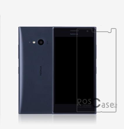 Защитная пленка Nillkin Crystal для Microsoft Lumia 730/735Описание:производитель -&amp;nbsp;Nillkin;совместимость: Microsoft Lumia 730/735;материал: полимер;тип: защитная пленка.Особенности:свойство анти-отпечатки;не желтеет;имеет все функциональные вырезы;не притягивает пыль;легко клеится.<br><br>Тип: Защитная пленка<br>Бренд: Nillkin