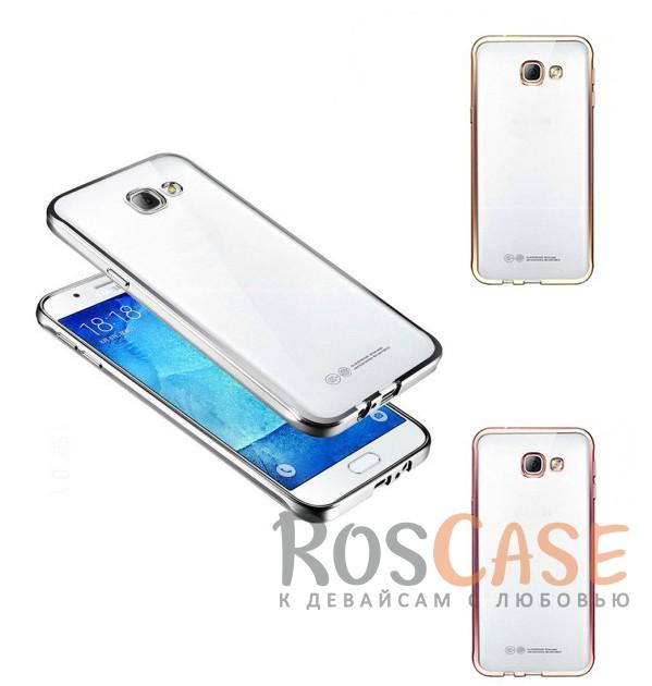 Прозрачный силиконовый чехол для Samsung A310F Galaxy A3 (2016) с глянцевой окантовкойОписание:подходит для Samsung A310F Galaxy A3 (2016);материал - силикон;тип - накладка.Особенности:глянцевая окантовка;прозрачный центр;гибкий;все вырезы в наличии;не скользит в руках;ультратонкий.<br><br>Тип: Чехол<br>Бренд: Epik<br>Материал: Силикон
