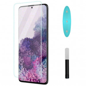 Nanoscarle Light | Защитное 3D стекло c УФ лампой  для Samsung Galaxy S20 Ultra