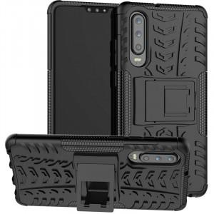 Противоударный двухслойный чехол Shield для Huawei P30 lite