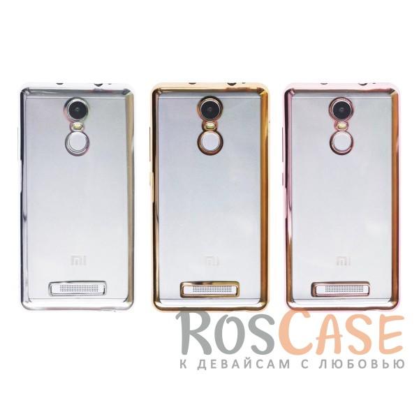 Прозрачный силиконовый чехол для Xiaomi Redmi Note 3 / Redmi Note 3 Pro с глянцевой окантовкойОписание:подходит для Xiaomi Redmi Note 3 / Redmi Note 3 Pro;материал - силикон;тип - накладка.Особенности:глянцевая окантовка;прозрачный центр;гибкий;все вырезы в наличии;не скользит в руках;ультратонкий.<br><br>Тип: Чехол<br>Бренд: Epik<br>Материал: Силикон