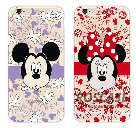"""Фото Тонкий силиконовый чехол с принтом """"Disney"""" для Apple iPhone 6/6s (4.7"""")"""