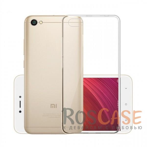 Ультратонкий силиконовый чехол для Xiaomi Redmi Note 5AОписание:совместим с Xiaomi Redmi Note 5A;ультратонкий дизайн;материал - TPU;тип - накладка;прозрачный;защищает от ударов и царапин;гибкий.<br><br>Тип: Чехол<br>Бренд: Epik<br>Материал: Силикон