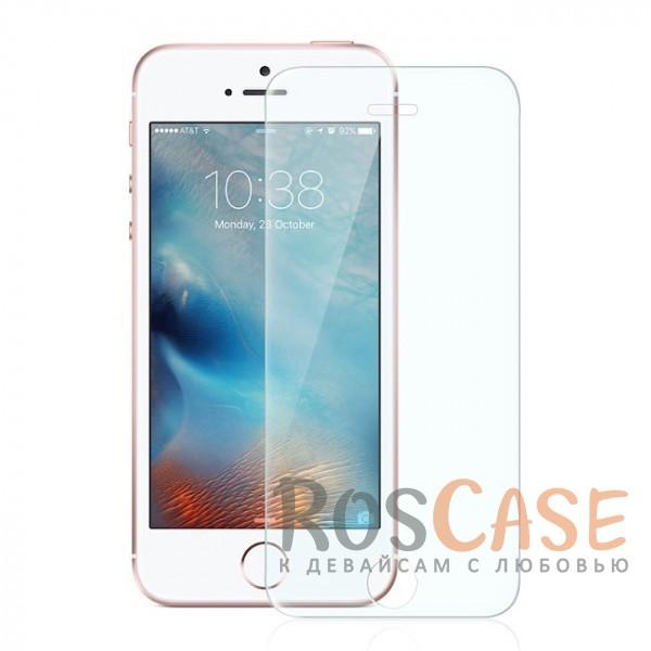 Фото Защитное стекло U-Glass 0.33mm (H+) для Apple iPhone 5/5S/SE (картонная упаковка)