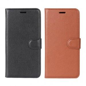 Wallet   Кожаный чехол-кошелек с внутренними карманами для LG Q6 / Q6a / Q6 Prime M700