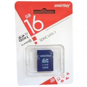 SmartBuy | Карта памяти SDHC 16 GB Card Class 10 для Sony Xperia Z5 Premium