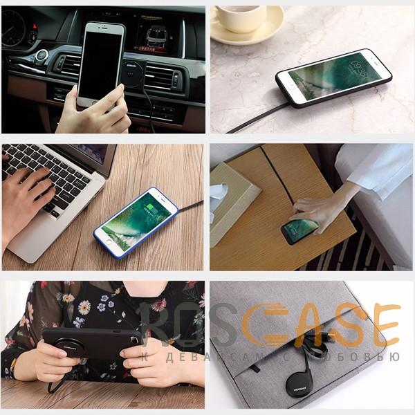 Фотография Черный JOYROOM JR-ZS141 | Многофункциональное беспроводное зарядное устройство для iPhone 6 / 6s