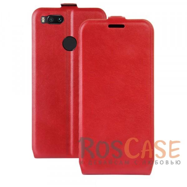 Флип-чехол с функцией подставки на гибкой силиконовой основе для Xiaomi Mi 5X / Mi A1 (Красный)Описание:совместимость - Xiaomi Mi 5X / Mi A1;материал - силикон, искусственная кожа;формат - чехол-флип;защита устройства со всех сторон;функция подставки;внутренний кармашек;магнитная застежка;все необходимые функциональные вырезы.<br><br>Тип: Чехол<br>Бренд: Epik<br>Материал: Искусственная кожа