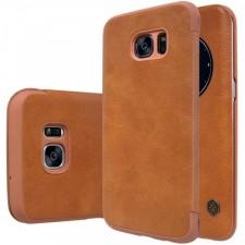 Nillkin Qin натур. кожа | Чехол-книжка  для Samsung Galaxy S7 Edge (G935F)