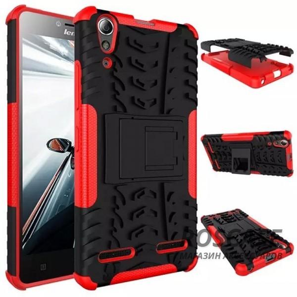 Противоударный двухслойный чехол Shield Lenovo A6000/A6010/A6000+/A6010+/K3/A6010 Pro с подставкой (Красный)Описание:разработан специально для Lenovo A6000/A6010/A6000+/A6010+/K3/A6010 Pro;материалы: поликарбонат, термополиуретан;тип: накладка.&amp;nbsp;Особенности:двухслойный;ударопрочный;оригинальный дизайн;стильный дизайн;в наличии все функциональные вырезы;функция подставки.<br><br>Тип: Чехол<br>Бренд: Epik<br>Материал: TPU