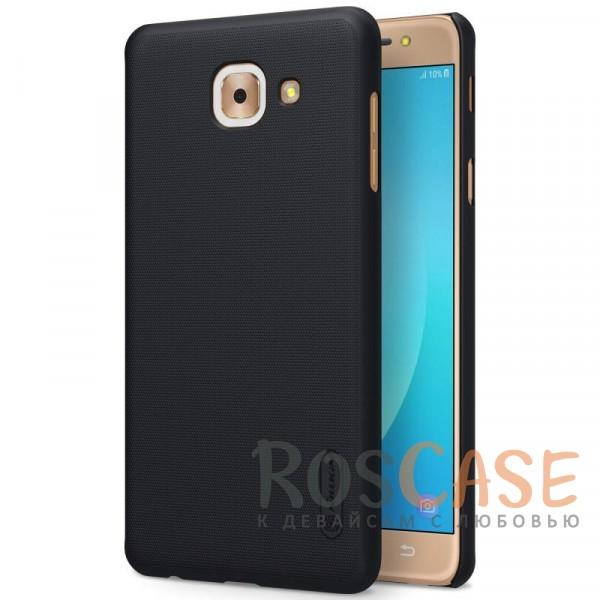 Матовый чехол для Samsung G615 Galaxy J7 Max (+ пленка) (Черный)Описание:бренд&amp;nbsp;Nillkin;совместим с Samsung G615 Galaxy J7 Max;материал: поликарбонат;рельефная фактура;тип: накладка;в наличии все функциональные вырезы;закрывает заднюю панель и боковые грани;не скользит в руках;защищает от ударов и царапин.<br><br>Тип: Чехол<br>Бренд: Nillkin<br>Материал: Поликарбонат