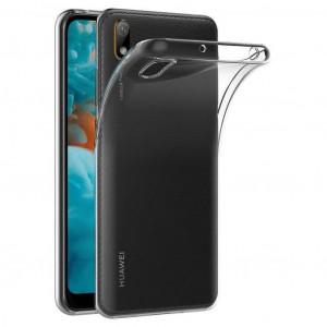 Прозрачный тонкий TPU чехол 0,33мм  для Huawei Y5 (2019)