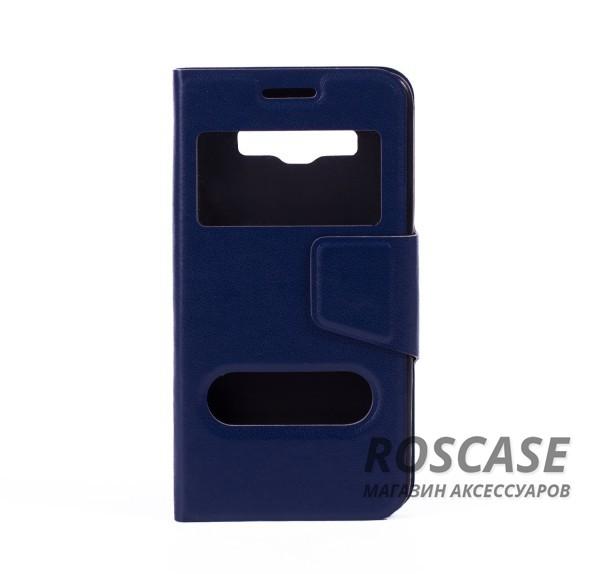 Чехол (книжка) с TPU креплением для Samsung A300H / A300F Galaxy A3 (Синий)Описание:компания разработчик: Epik;совместимость с устройством модели: Samsung A300H / A300F Galaxy A3;материал изделия: искусственная кожа и термополиуретан;конфигурация: обложка в виде книжки.Особенности:всесторонняя защита смартфона;высокий класс износоустойчивости;функция подставки;имеет два окошка;имеет все функциональные отверстия.<br><br>Тип: Чехол<br>Бренд: Epik<br>Материал: Искусственная кожа
